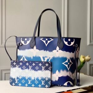 Louis Vuitton escale neverfull blue